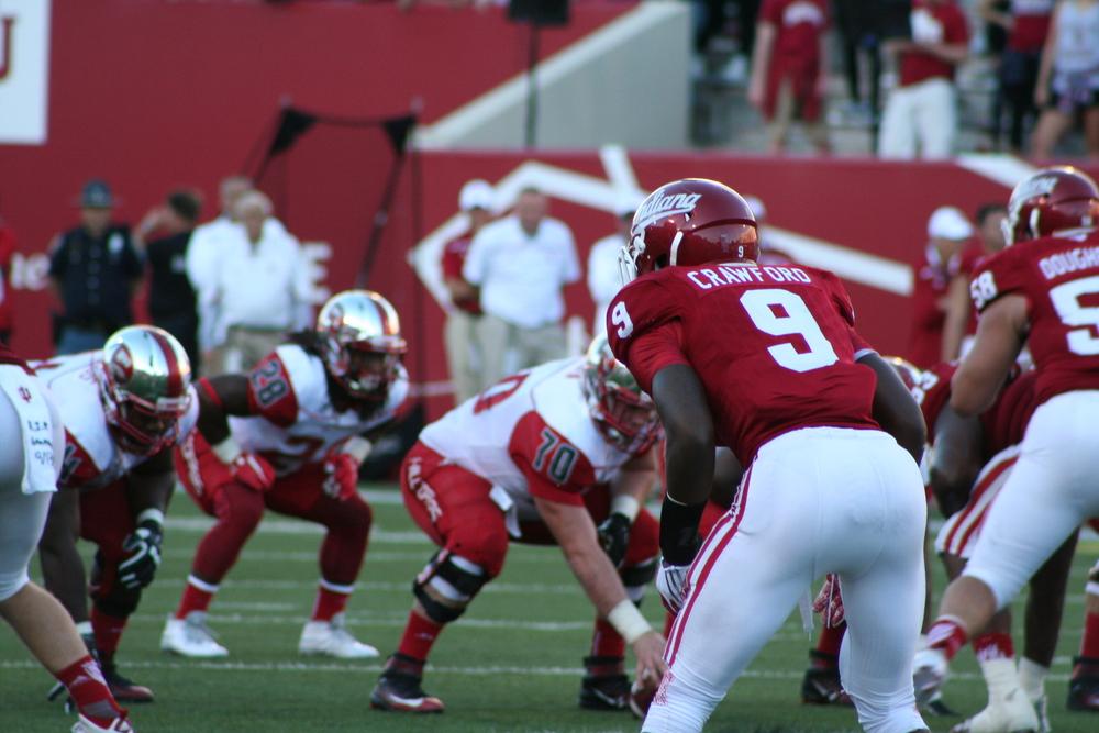 Jonathan Crawford earned co-Freshman of the Week honors.   Image: Cam Koenig Hoosier Huddle.com