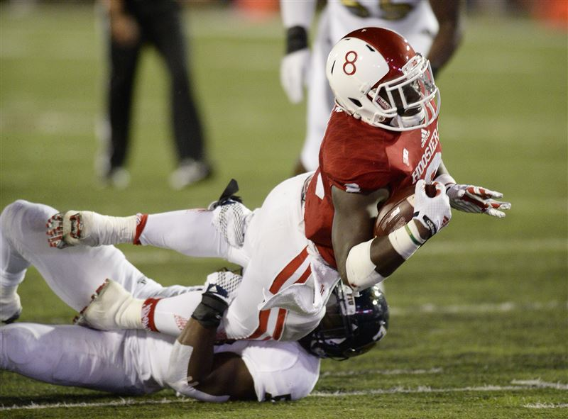 Getting the nation's leading rusher going will help the Hoosiers in their attempt to knock off number one. Image: Elkhart Truth