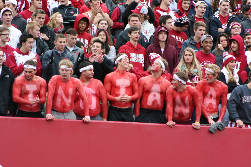 Indiana Football is beyond moral victories.  Image: Cam Koenig HoosierHuddle.com