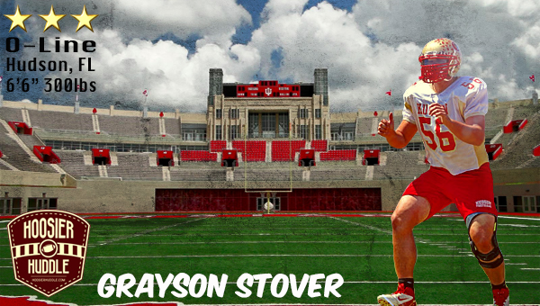 Grayson Stover is the newest member of the Hoosier Army. Image: Alex Compton, Hoosier Huddle.com