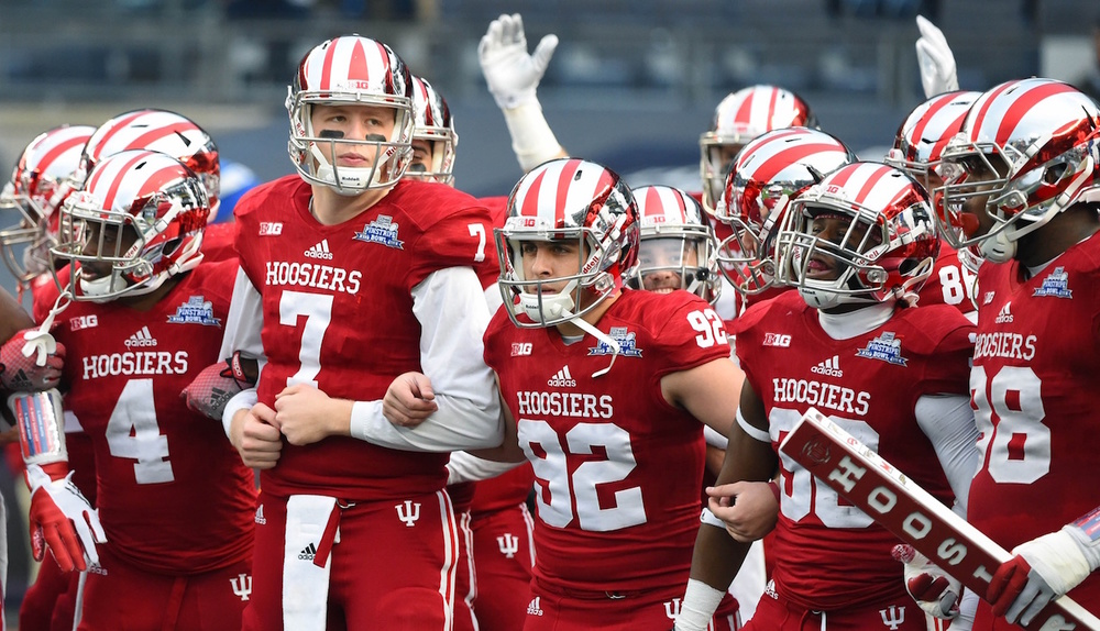The Hoosiers have a schedule that features many potential momentum changing games in 2016.  Image: Scout.com
