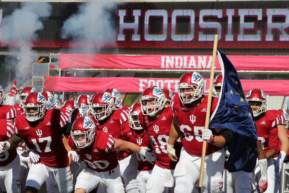 Indiana will try and buck trends when they face-off against Michigan  Image: Cam Koenig HoosierHuddle.com