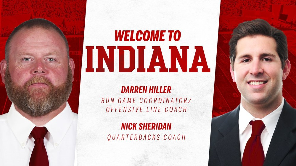 Indiana filled the two vacancies left of the coaching staff.  Image: Indiana Athletics