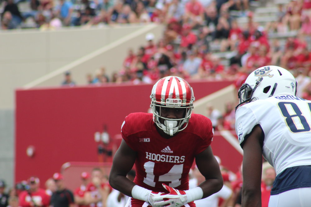 Andre Brown has the most experience coming back at corner. Image: Sammy Jacobs Hoosier Huddle