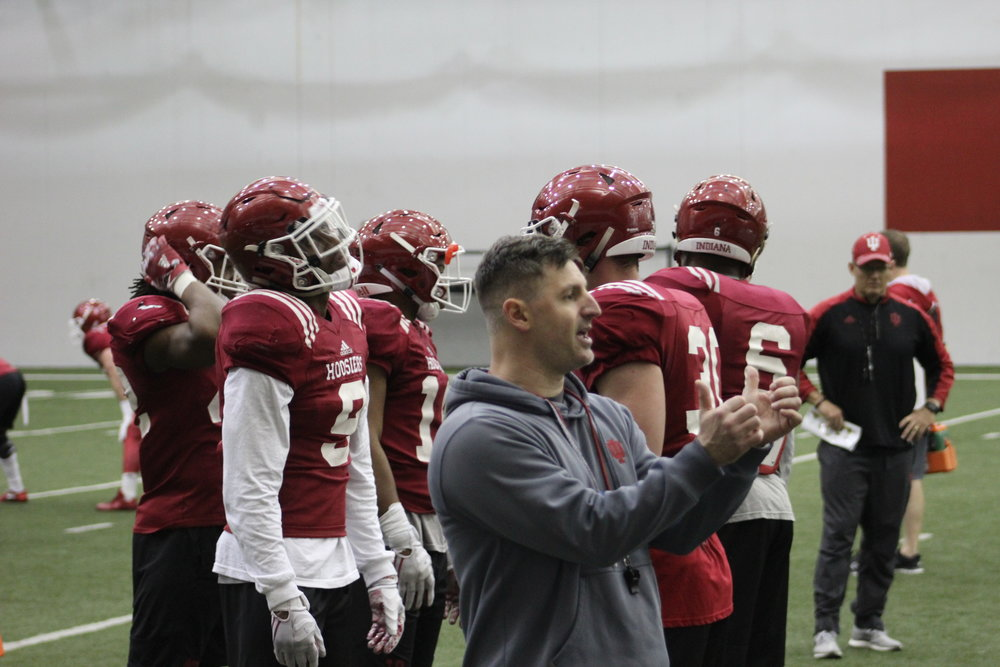 Safeties Coach Noah Joseph Leaves IU for Rutgers