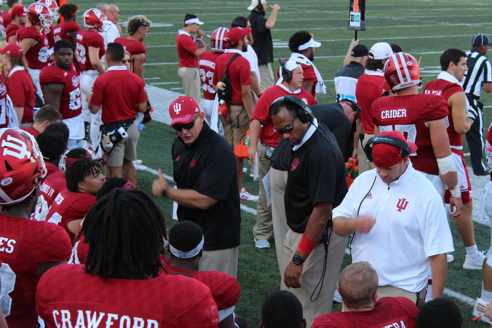 Tom Allen and his team should only benefit from the new redshirt rule  Image: Sammy Jacobs Hoosier Huddle