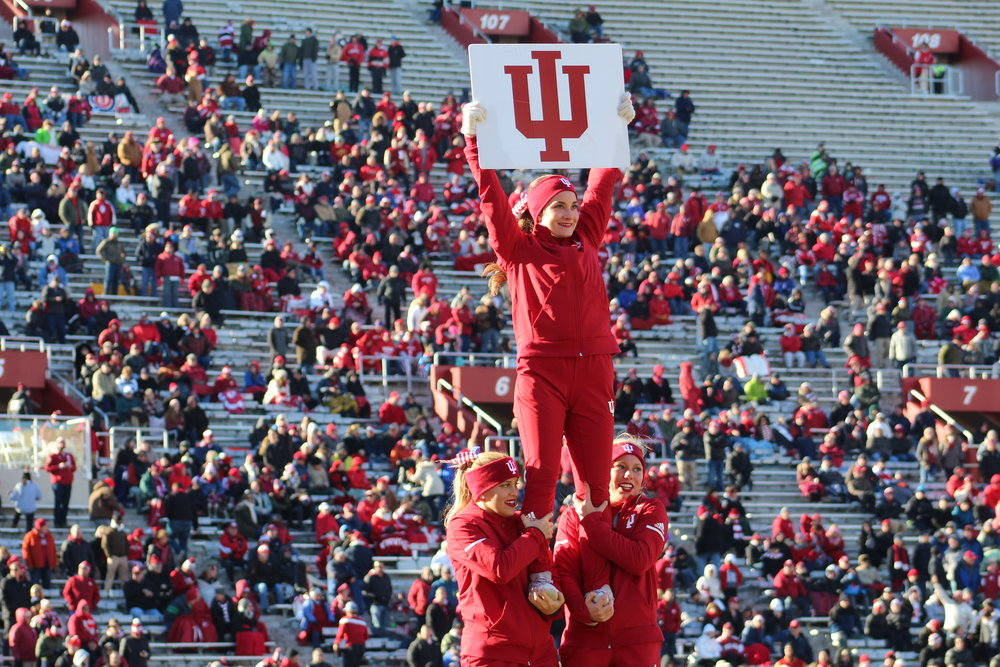 Indiana heads to the Big House on Saturday afternoon  Image: Sammy Jacobs Hoosier Huddle