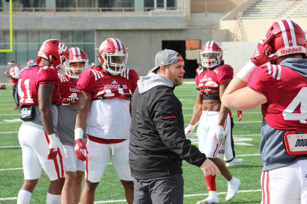 Kane Wommack will be IU's defensive coordinator in 2019  Image: Sammy Jacobs Hoosier Huddle