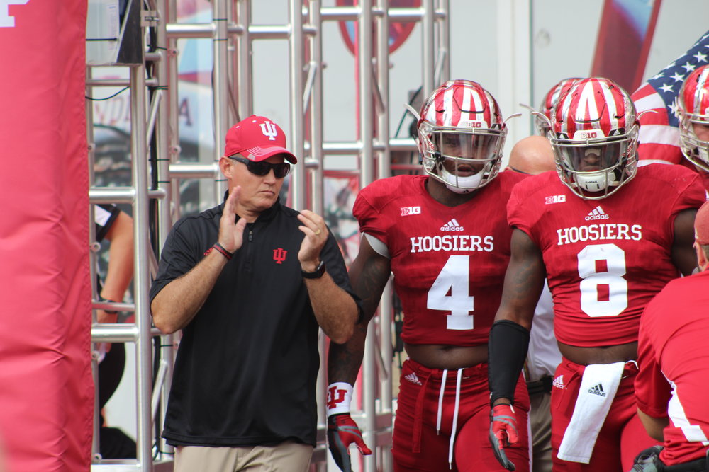 Tom Allen wanted to find a mirror image of himself on offense.  Image: Sammy Jacobs Hoosier Huddle