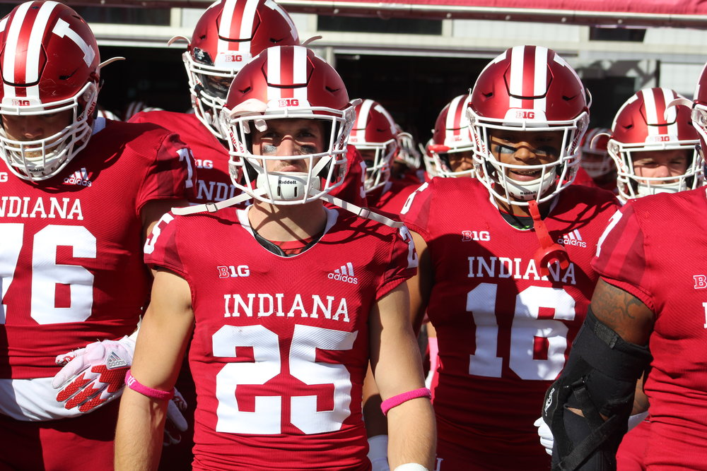 The Indiana Hoosiers land smack in the middle of the Big Ten in S&P+ projections.  Image: Sammy Jacobs Hoosier Huddle