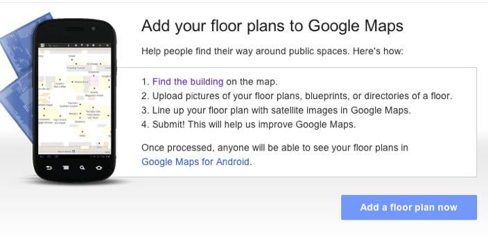 Google Floor Plans