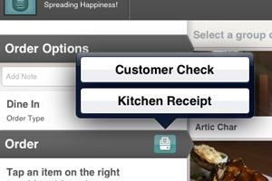 Change Customer Check
