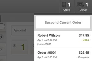 Suspend Orders