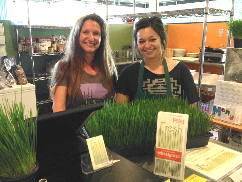 Owner Kerri Rush and Manager/Sous Chef Nicole Wilke find inspiration from proving that raw vegan food can be both healthy and delicious.