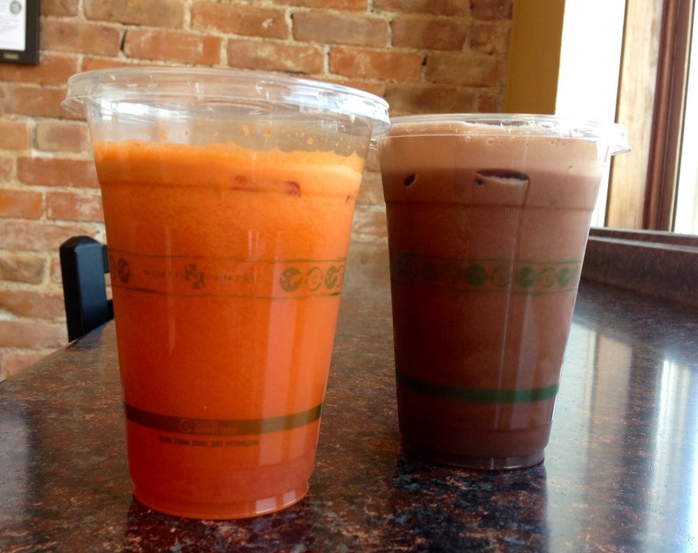 Fresh Juices.