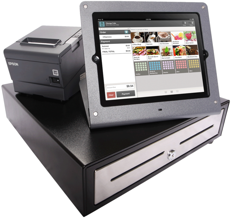 p cash air printer for terminal credit s drawers ipad drawer card register pos square