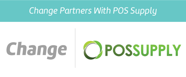 Change restaurant app partners with POS Supply in Australia.