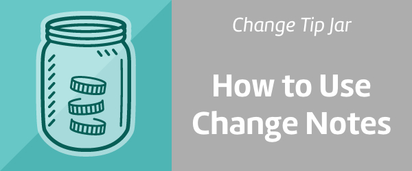 Change Support and Tip Jar: How to Use Notes.