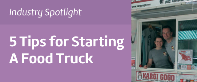 5 Tips for Starting a Food Truck Cart