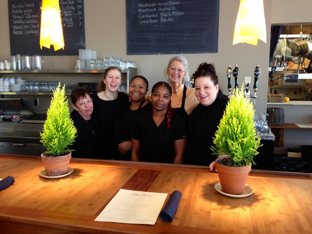 Lisa LaValle and the team at Trellis.