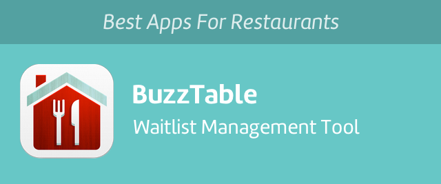 Best Apps For Restaurants BuzzTable Change - Table management app