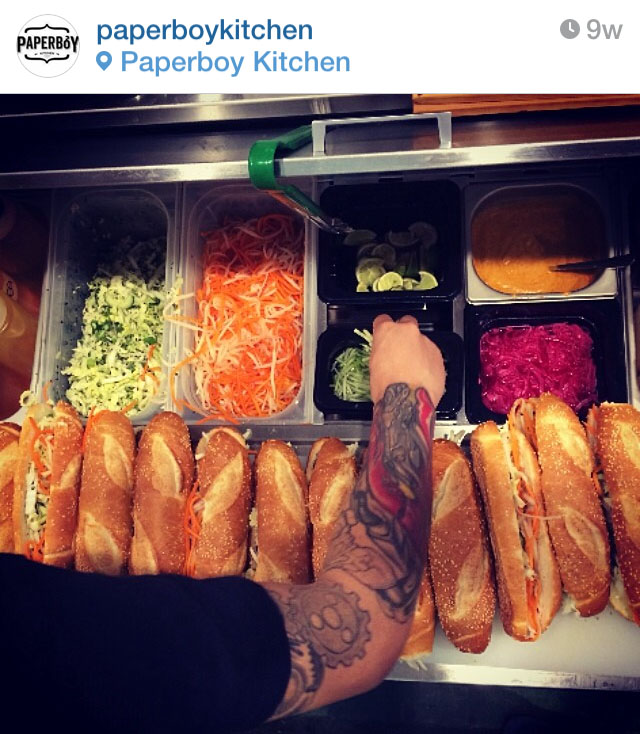 Image courtesy of  @paperboykitchen