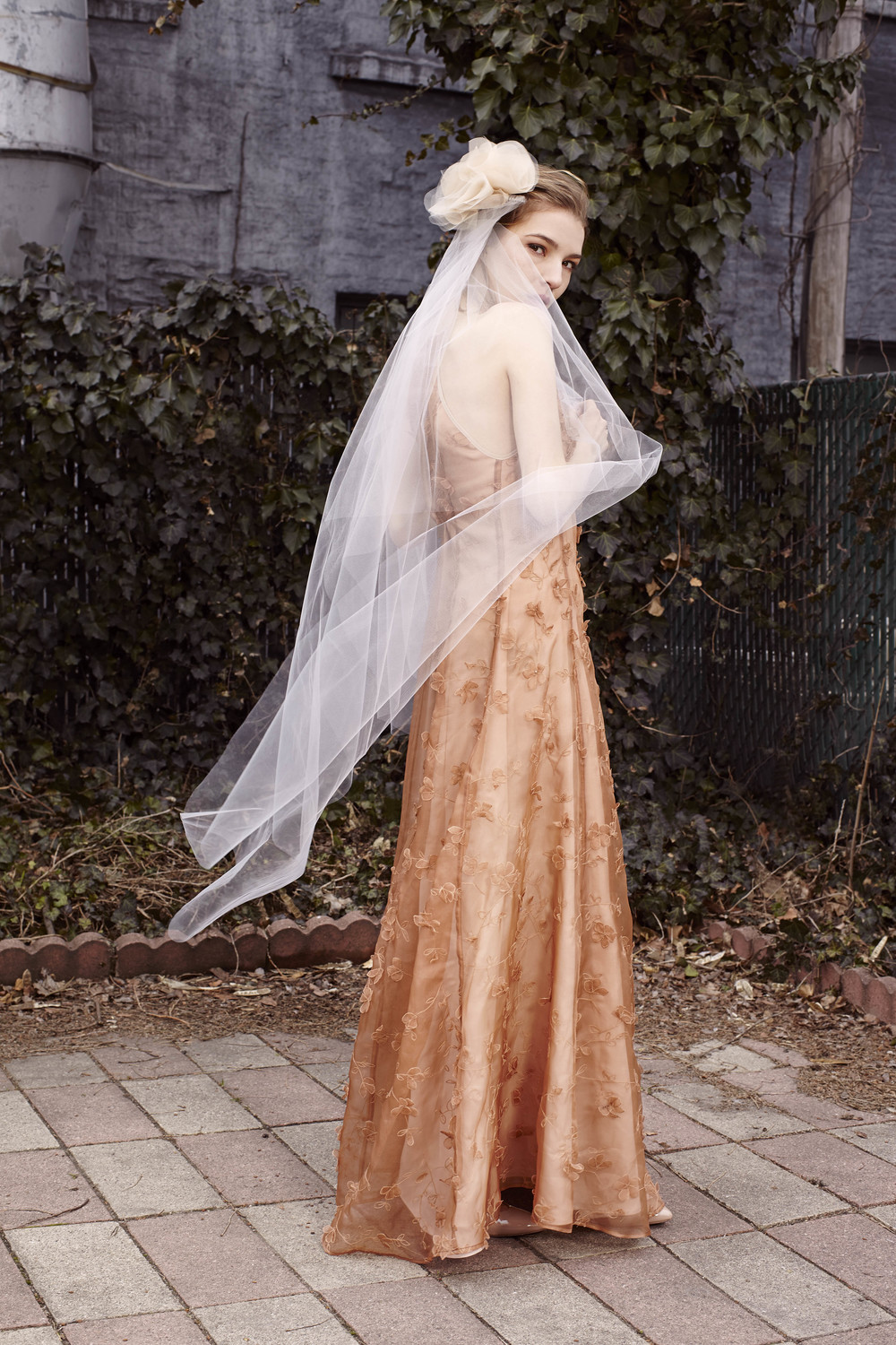 Marine Gown in rose gold, Bridal Collection