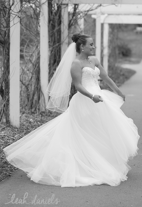 Sometimes all you really need is a good Disney Princess twirl in your wedding dress!