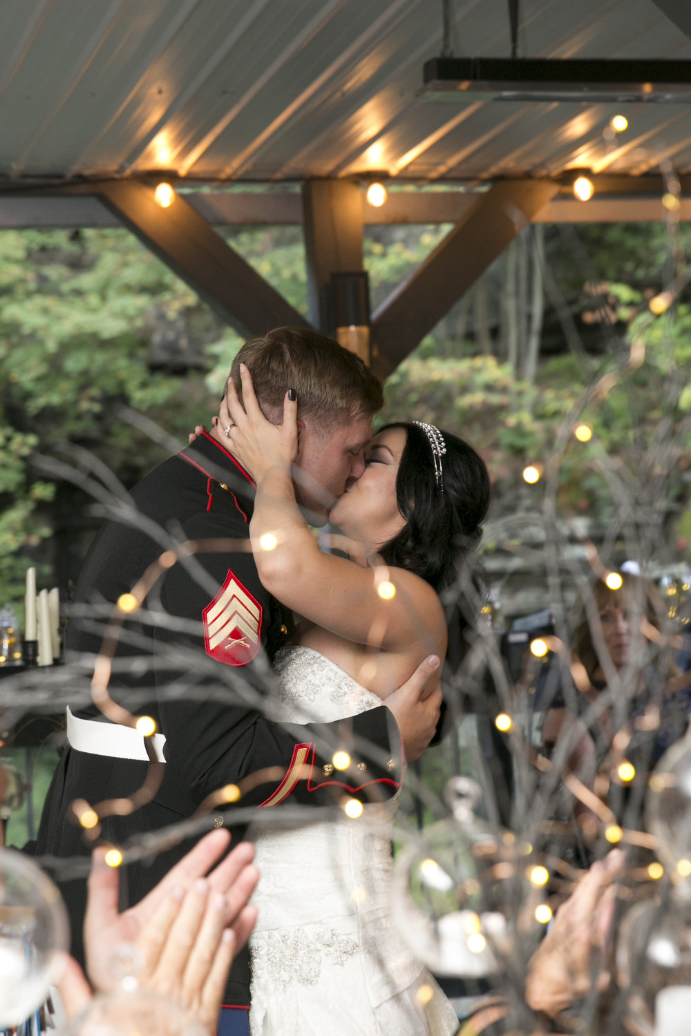 It's so hard not to cry when the first dance plays! #imnotcryingyourecrying !