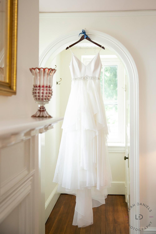 Springton Manor Farm Wedding - Wedding Dress