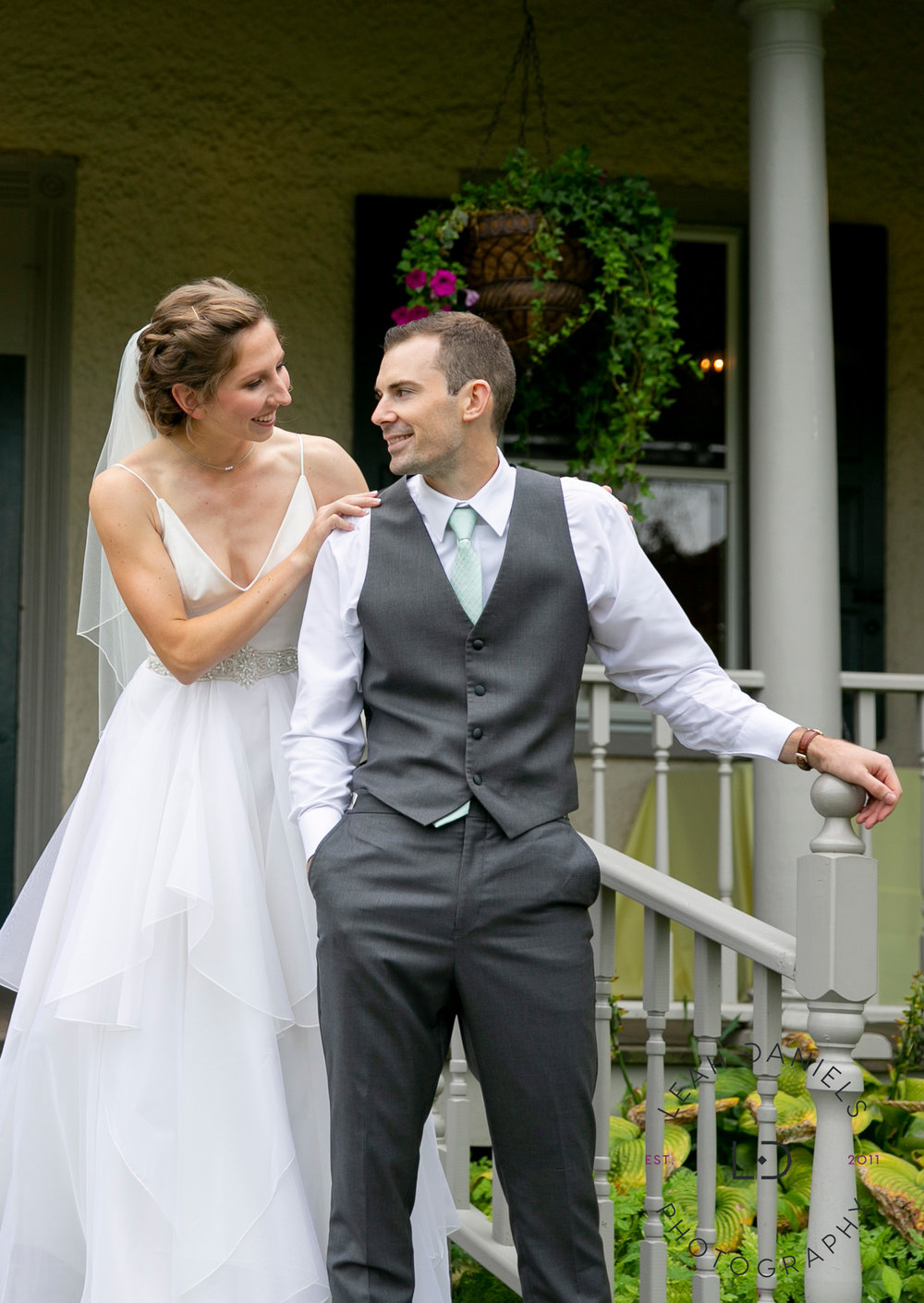 Springton Manor Farm Wedding - First Look