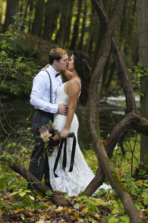 Adventure Wedding - Elopement Delaware Water Gap