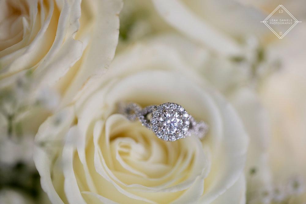 Scranton Wedding Photography - Ring Detail