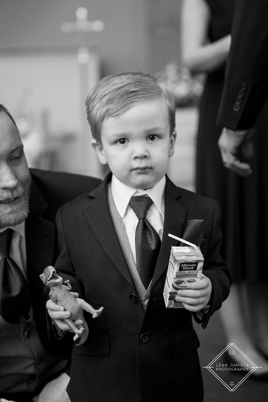 Scranton Wedding Photography - Ring Bearer