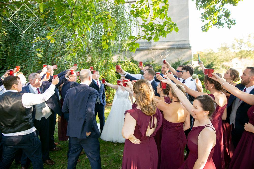 Scranton Wedding Photography - Nay Aug Park - Bride and Groom Photos
