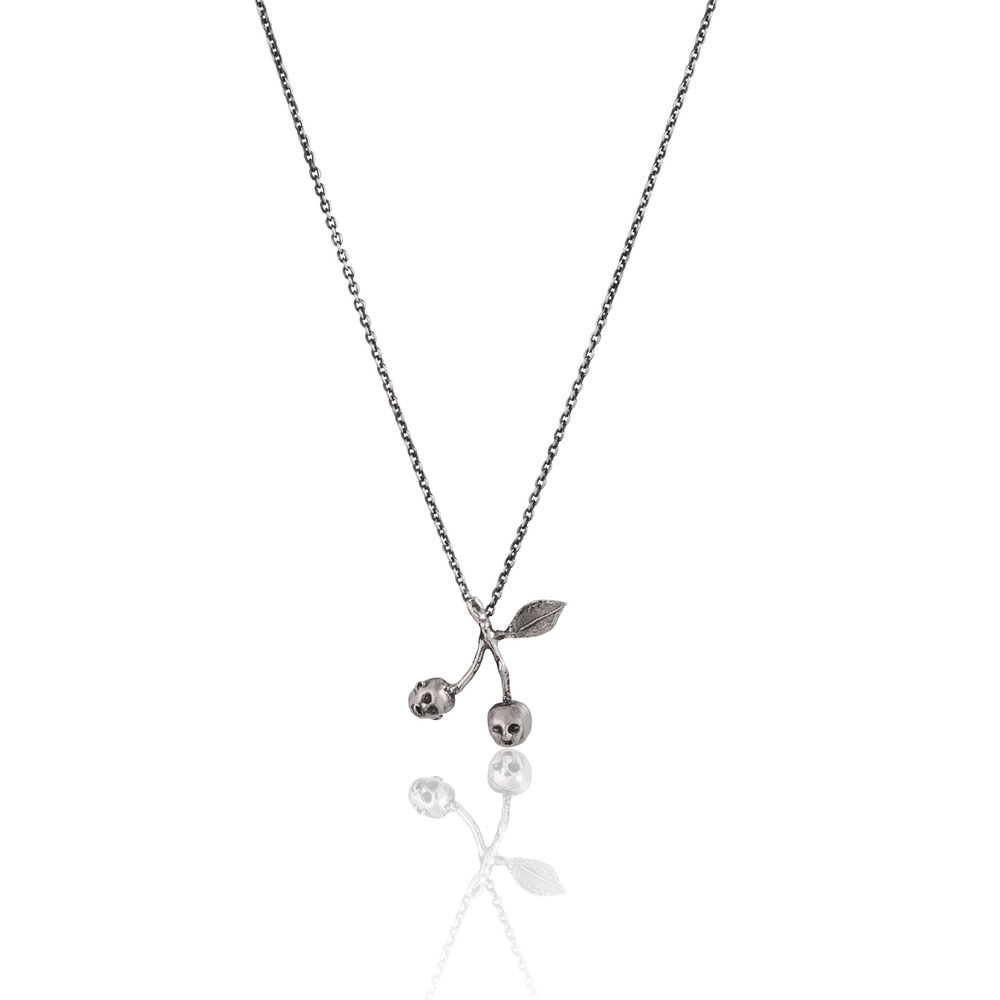 Momocreatura: Cherry Brothers Necklace | Jewelry > Necklaces -  Hiphunters Shop
