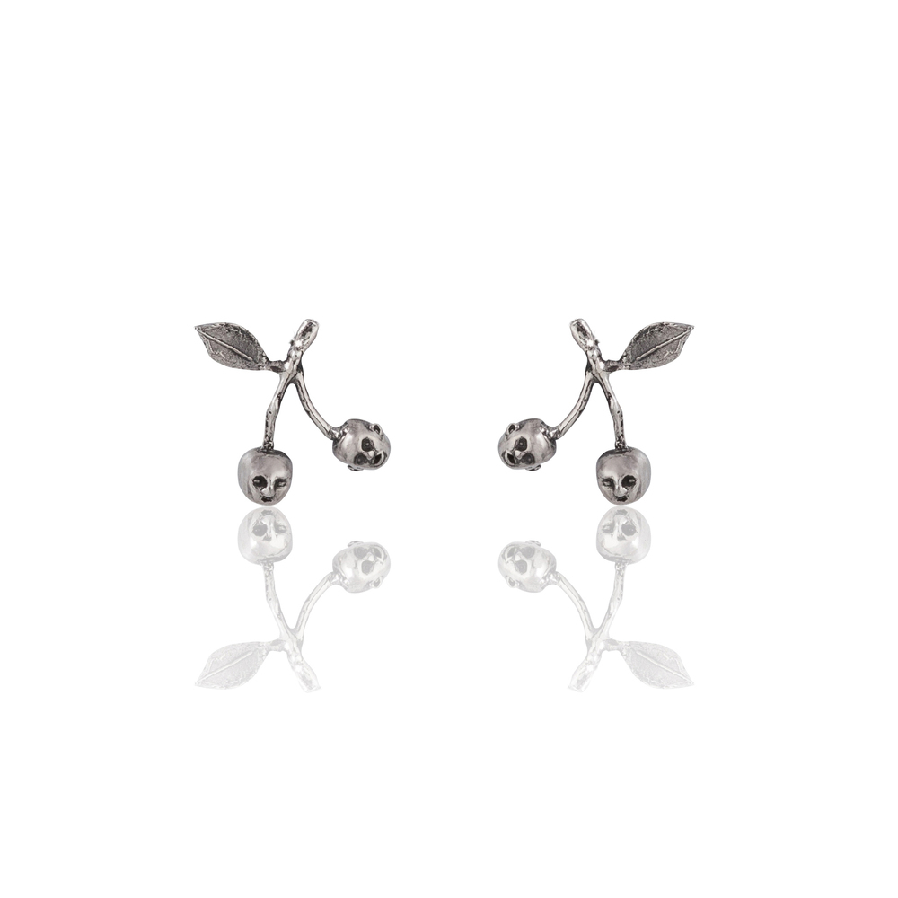 Momocreatura: Cherry Brothers Earrings | Jewelry > Earrings -  Hiphunters Shop