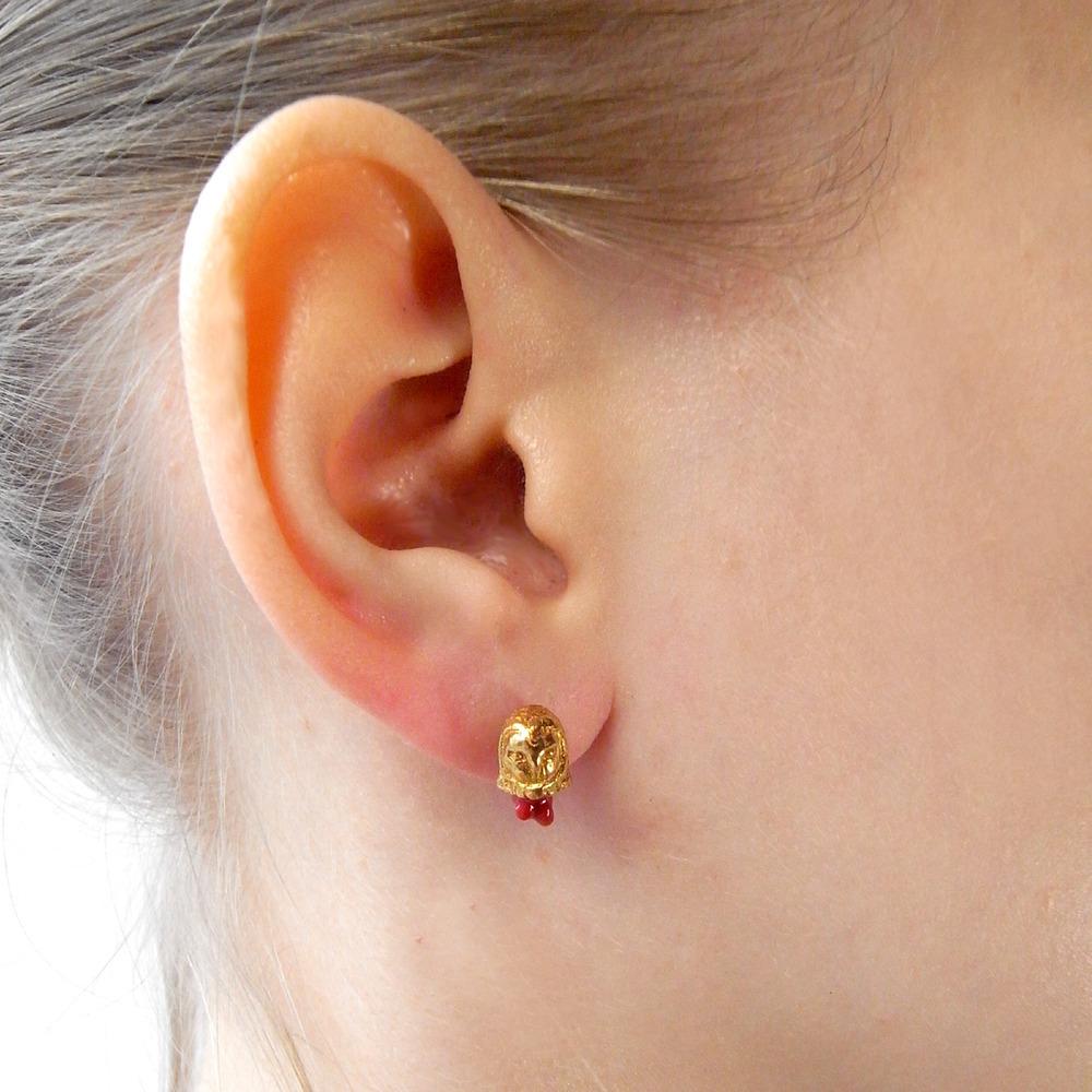 Momocreatura: Head Off Owl Earrings | Jewelry > Earrings -  Hiphunters Shop