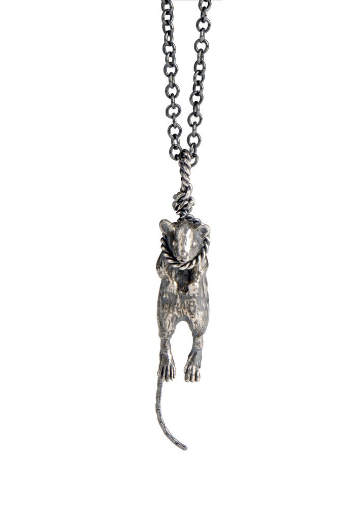 Momocreatura: Hanging Mouse Pendant | Jewelry > Necklaces -  Hiphunters Shop