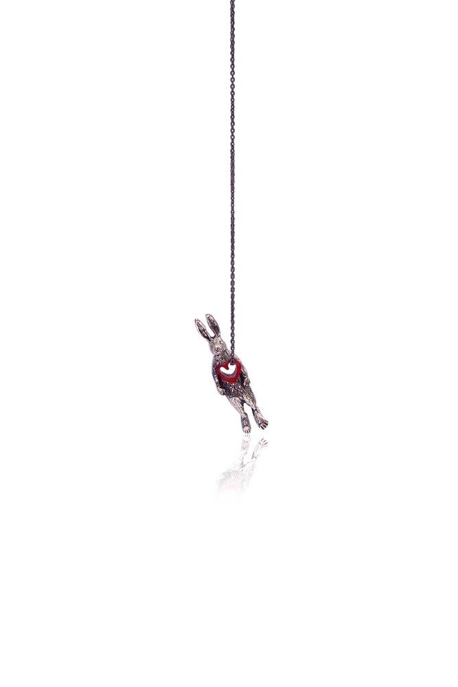 Momocreatura: Stolen Heart Bunny Necklace | Jewelry > Necklaces -  Hiphunters Shop