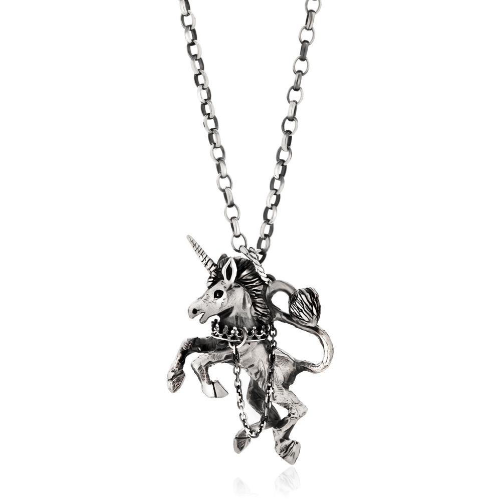 Momocreatura: Unicorn Necklace | Jewelry > Necklaces -  Hiphunters Shop