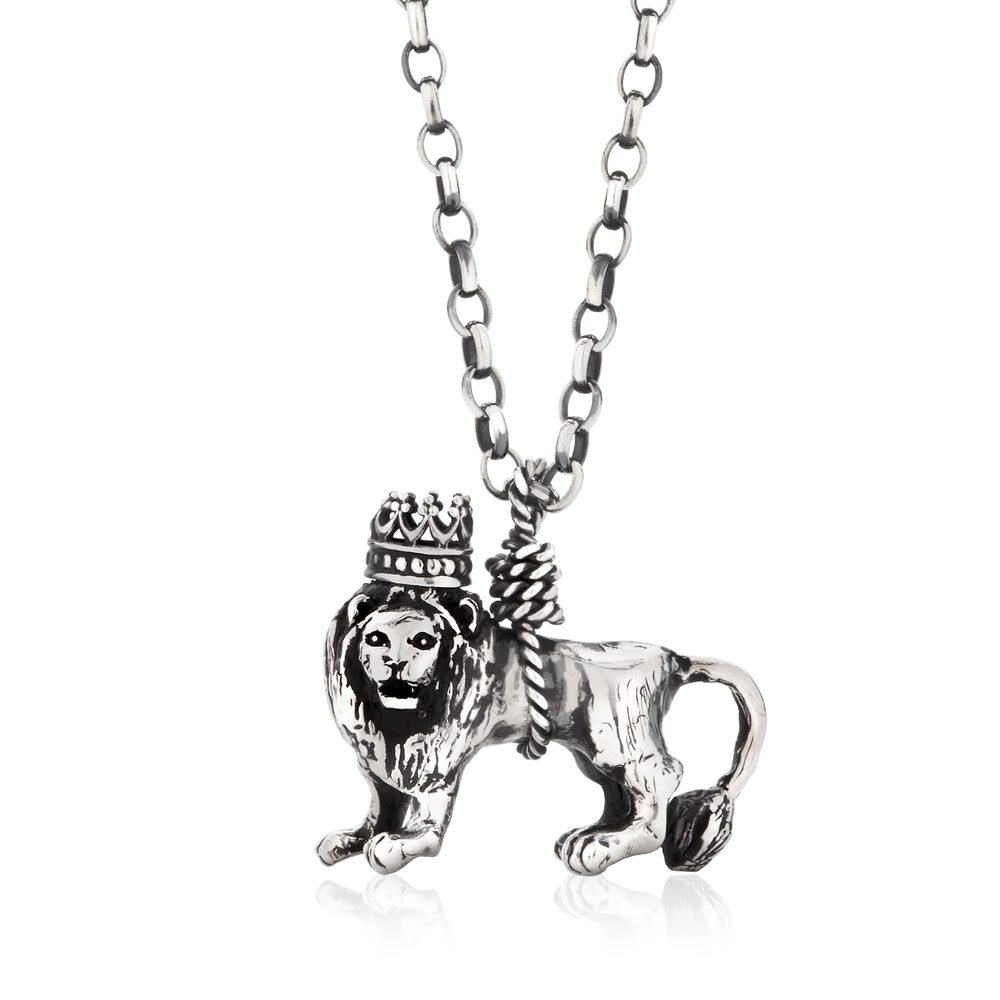 Momocreatura: British lion necklace | Jewelry > Necklaces -  Hiphunters Shop
