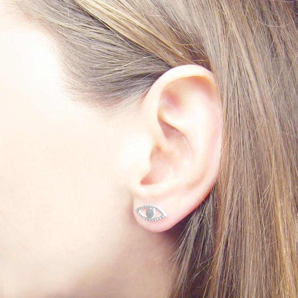 Momocreatura: Eye and ray earrings | Jewelry > Earrings -  Hiphunters Shop