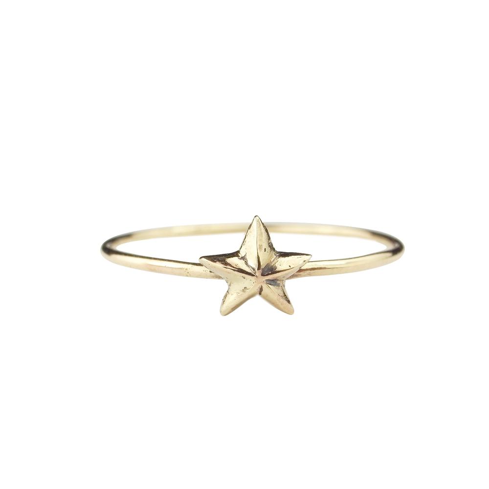 Momocreatura: Tiny Star Ring | Jewelry > Rings -  Hiphunters Shop