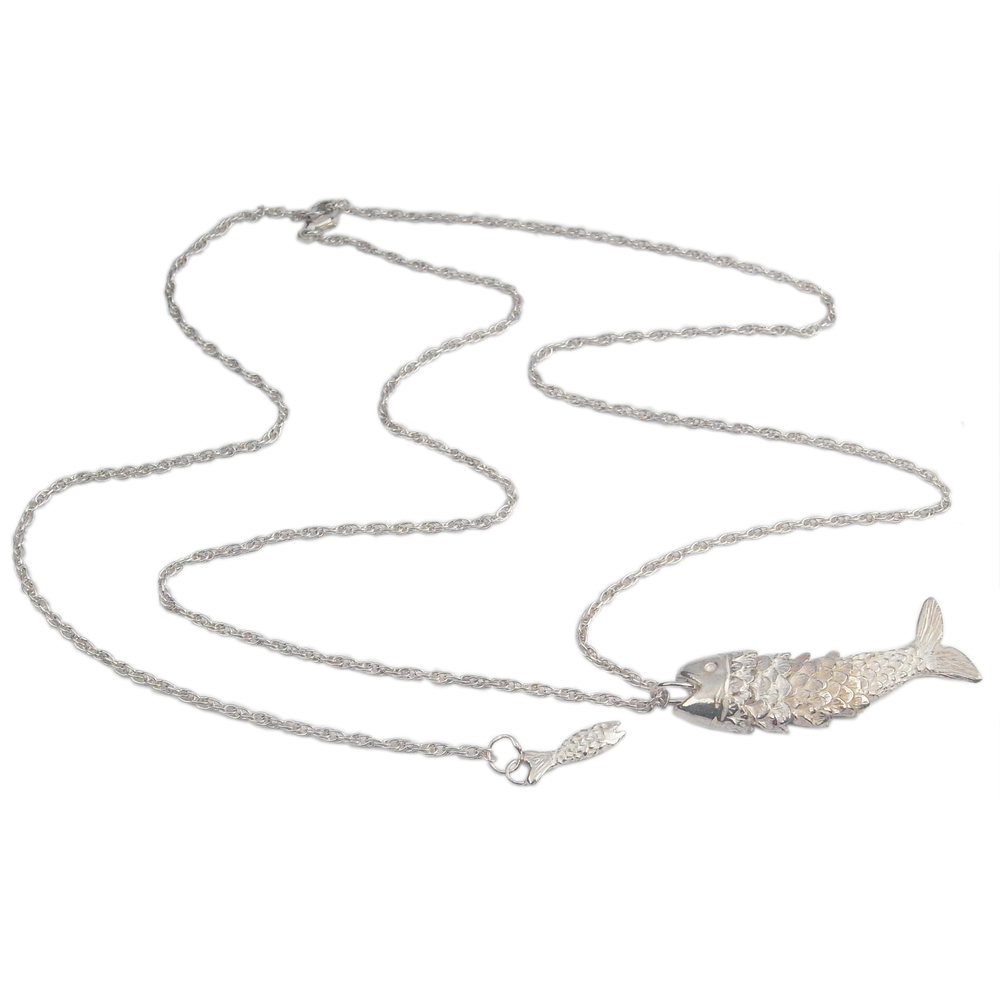 Momocreatura: Fish necklace | Jewelry > Necklaces -  Hiphunters Shop