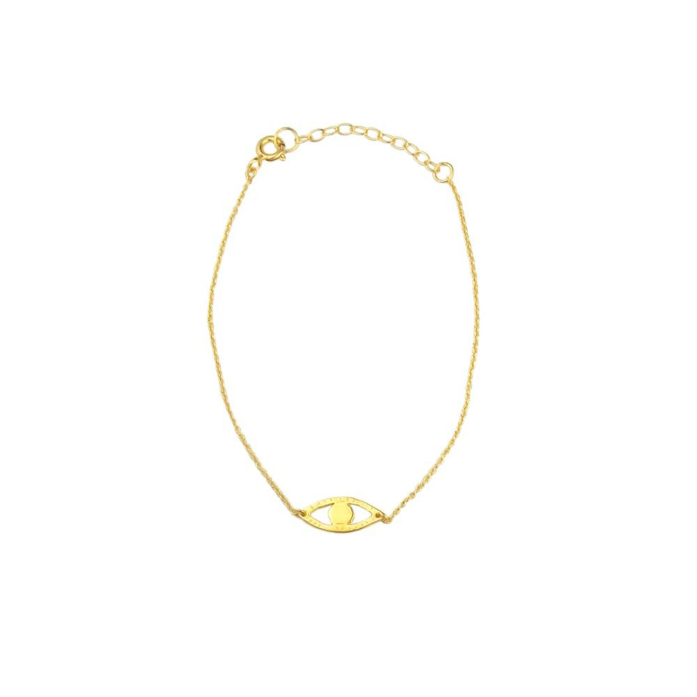 Momocreatura: Eye bracelet gold | Jewelry > Bracelets -  Hiphunters Shop