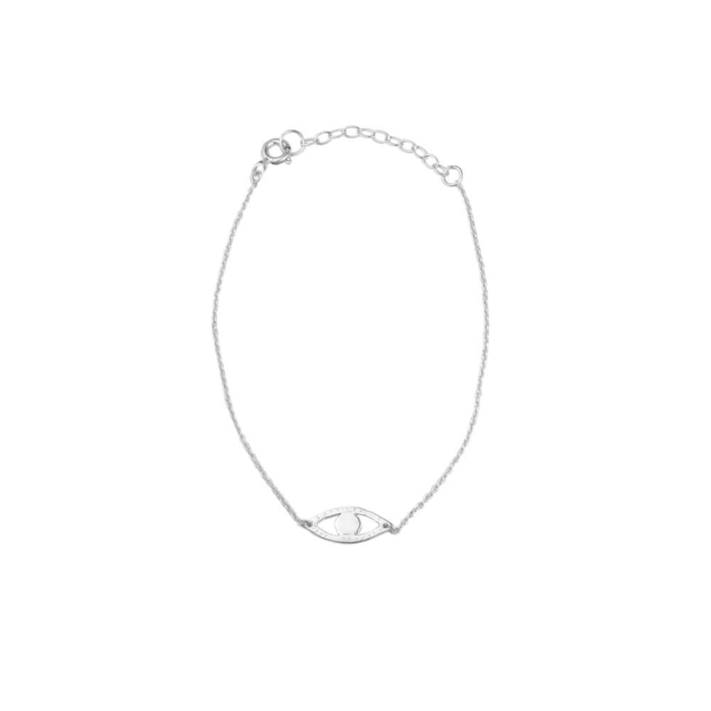 Momocreatura: Eye bracelet silver | Jewelry > Bracelets -  Hiphunters Shop