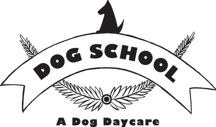 Dog School Philly logo design