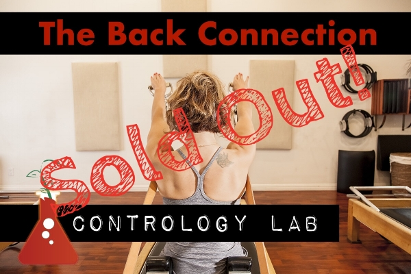 Saturday May 19th, 3-4:30pm with Daniela Escobar and Pamela Debiase    If you didn't make it into the May 19th Contrology Lab, put yourself on the waitlist so we can contact you as soon as someone cancels!