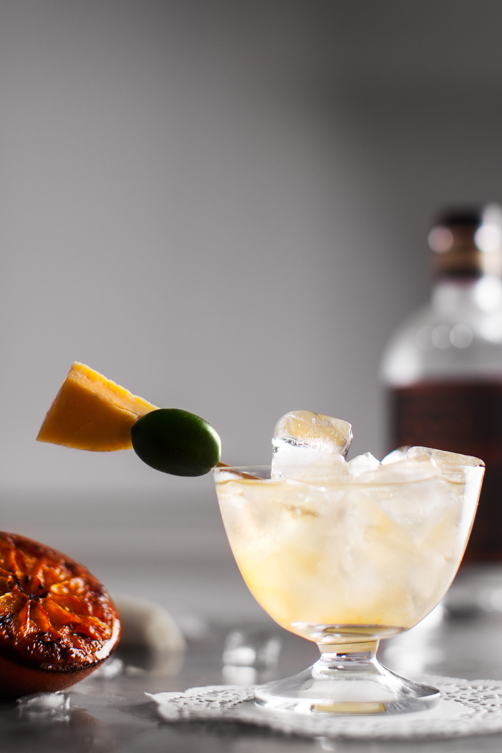 Roasted Orange G+T.  Recipe and styling by   Cle-ann  , photo by   Hugh Adams  .